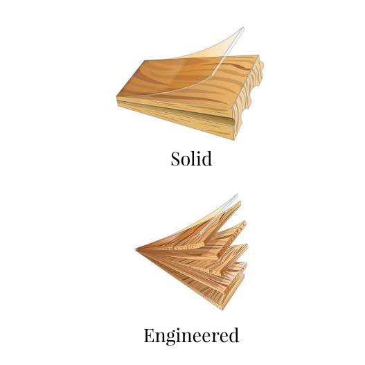 Solid vs engineered wood | Hamernick's Interior Solutions