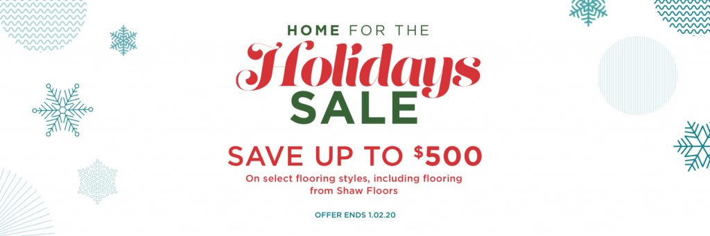 Home for the Holidays Sale | Hamernick's Interior Solutions