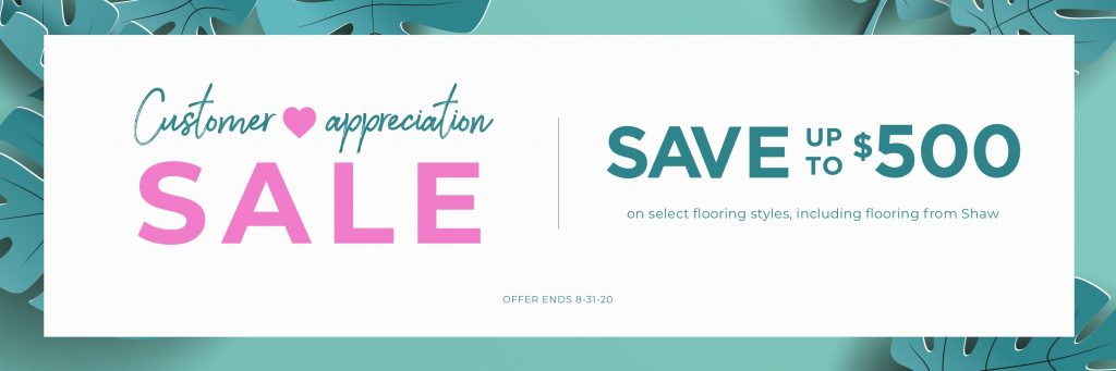 Customer Appreciation Sale   Hamernick's Interior Solutions