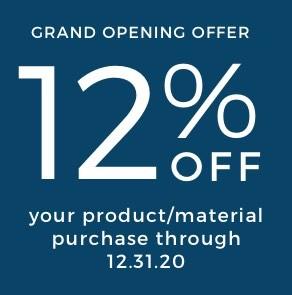 12% off flooring offer