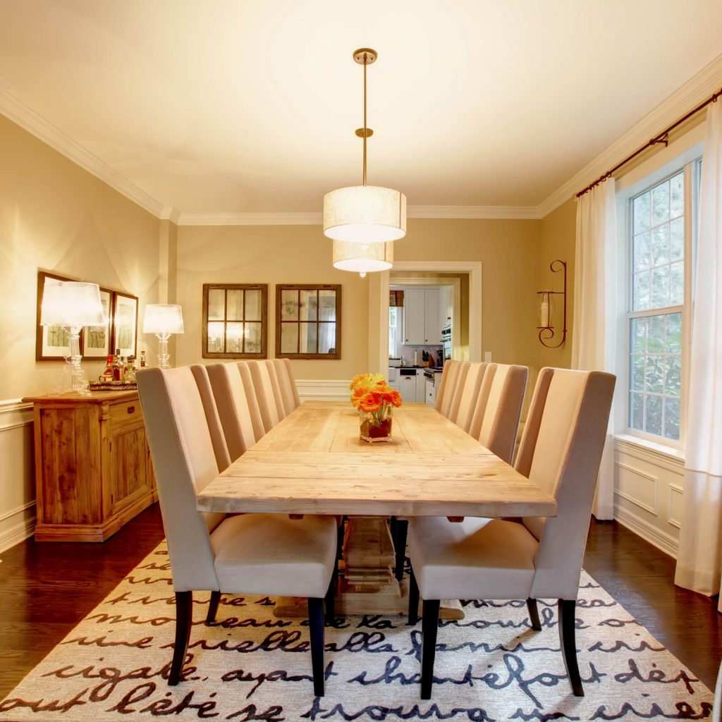 Choosing the Best Rug for Your Dining Room   Hamernick's Interior Solutions