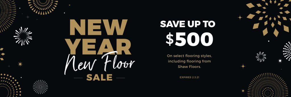 New Year New Floors Sale | Hamernick's Interior Solutions